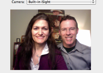Chris & Cheryl Skype