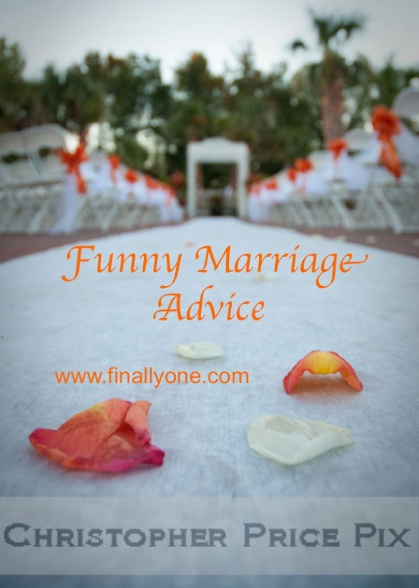 Funny Marriage Advice