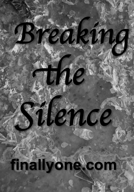 Break Silence Graphic